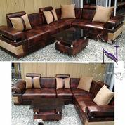 Sofa L Minimalis Bahan Oscar (21398311) di Kab. Sidoarjo