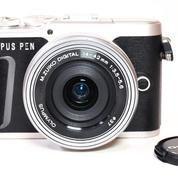 Olympus Pen E-PL9 Silver Kit 14-42mm Like New Fullset (21411635) di Kota Jakarta Pusat