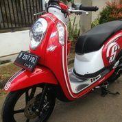 Motor Bekas Bandung Honda Scoopy Tahun 2015 Mulus Mesin Masih Asli Siap Keluar Kota (21415615) di Kota Bandung