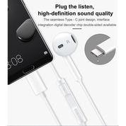 Type-C Earphone / Headset / Headphone Stereo Phone With Microphone Mic