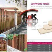 Conwood Fence (Aksesoris) + Jasa Pemasangan (Harga Sendiri)