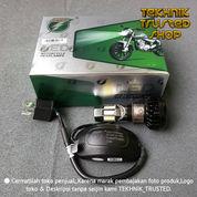 Lampu Utama Motor Led Dc 6 Sisi Universal Sangat Terang Plus Blower Anti Panas (21447783) di Kab. Bekasi