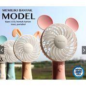 JIEKAI Kipas Angin Mini / Mini Fan Karakter / Kipas Angin Mini LED (21483467) di Kota Surakarta