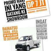 DP 7Jtaan New Daihatsu Granmax 1.3 Pick Up
