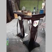 Podium Jati Stock Minimalis Stainles Lengkung Samping Saja (21508271) di Kota Samarinda