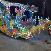 Murah Kereta Kencana Mainan Odong Risma Rjm Panggung Komedi Putar (21511459) di Kab. Karangasem