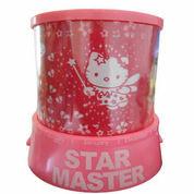 Lampu Tidur Proyektor Star Master Hello Kitty Model 3 (Musik + Berputar) (2151303) di Kota Surabaya
