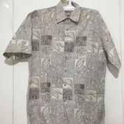 Kemeja Hawai CAMPIA Lengan Pendek Putih Size S Fits L ORIGINAL (21517219) di Kota Tangerang Selatan