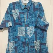 Kemeja Hawaii COOKE STREET Lengan Pendek Biru Size L Fits 3XL ORIGINAL (21518967) di Kota Tangerang Selatan