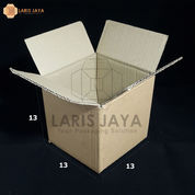 Kardus / Box / Karton / Kotak Packing - 13 X 13 X 13 Cm