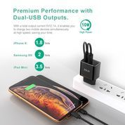 Zola Charger Thunder 2 Lite Dual Ports Usb Output, Fast Charging 2.1A (21554531) di Kota Surakarta