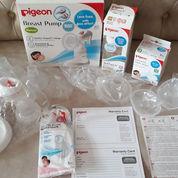 Pigeon Manual Breast Pump, Free Breastpad, Free Nipple Shield, Free Bottle
