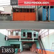 Ruko Podok Aren, Tangerang, 255 M, 2 Lt, SHM (21565015) di Kota Tangerang Selatan