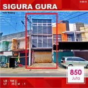 Resto Murah 3 Lantai Di Sigura Gura Kota Malang _ 499.19 (21574467) di Kota Malang
