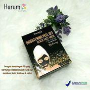 [HARUMI] BLACK FACE MASK BRIGHTENING PEEL OFF (21587083) di Kota Bekasi