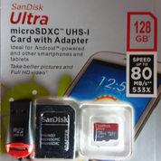 Kartu Memory SanDisk Ultra Micro SDXC UHS-I 128 GB Class 10 (21589943) di Kota Bekasi