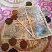Uang Kuno Kertas 1rupia Thn 1954 Seharga 20juta Plus Uang Koin Thn 94kebawa (21590531) di Kab. Kampar