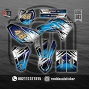 Sticker Decal Motor - RMD Sticker