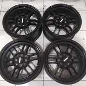 Ready Pelek Ring 16x7 Rata Rpf 1 Black (21598515) di Kota Bekasi