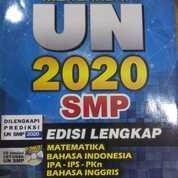 BUKU PERSIAPAN UN SMP 2020 PLUS CD SIMULASI
