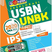 BUKU USBN UNBK SMA MA IPS 2020 PLUS CD SIMULASI (21605967) di Kab. Bandung