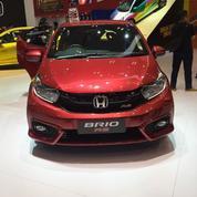 Honda Brio S Manual 2019 Warna Merah Maroon