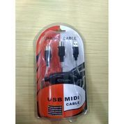 Kabel Midi Ke Usb / Converter Usb Ke Midi / Keyboard Adapter (21650663) di Kota Surakarta