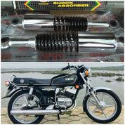 Shockbreaker Sok Breker Belakang Yamaha RX 100 Chroom