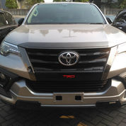 Ready Stock NEW FORTUNER 4x2 2.4 VRZ A/T DSL TRD Diesel Silver Metalik Cash/Credit