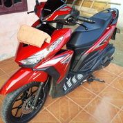 Honda Vario 150 Merah Maroon