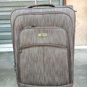 Promo Tas Koper President Kanvas TSA Lock Double Zipper
