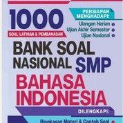 BUKU 1000 BANK SOAL BAHASA INDONESIA SMP KELAS 7 8 9