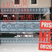 KACA FILM SANDBLAST DEKORASI MASJID DAN GEDUNG KANTOR DI MEDAN (21684115) di Kota Medan