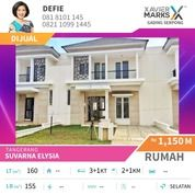 Rumah Murah Cluster Elysia Suvarna Sutera Cikupa (21712219) di Kota Tangerang