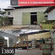 Gudang Jl. H. Maulana Hasanudin, Tangerang, 1.944 M, SHM (21713759) di Kota Tangerang