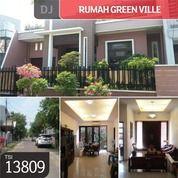 Kompleks Green Ville, Jakarta Barat, 10x20, 2 Lt, SHM (21714135) di Kota Jakarta Barat