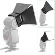 Mini Softbox Flash Kamera DSLR Speedlite Difusser 13cm X 10cm