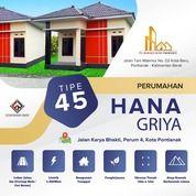 Perumahan Hana Griya Pontianak Type 45