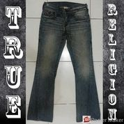 Celana Jeans Panjang True Religion Section Joey Super T Original Made In Usa Size 33 (21725191) di Kota Medan