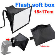Soft Box Flash Diffuser Universal 15x17cm