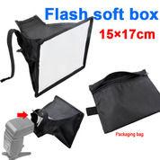 Soft Box Flash Diffuser Universal 15x17cm