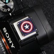 Universal Hot Shoe Cover Tutup Flash Captain America R004