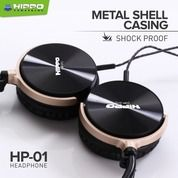 Hippo Headphone HP-01 Music & Telp Microphone - Headset Hippo HP-01 (21736403) di Kota Surakarta