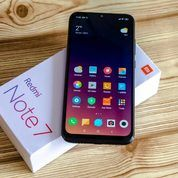 Xiaomi Note 7 Black Ram 4/64 Mulus 99% Lengkap Grs 11 Bulan Banyak Bonus