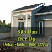 Free DP Rumah Cantik 5menit Dari Stasiun Bojonggede (21749239) di Bojong Gede