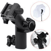 Metal Type E Flash Light Stand Umbrella Holder Bracket