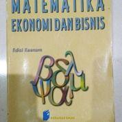 Buku Matematika Ekonomi Dan Bisnis Edisi Keenam Nata Wirawan