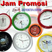 Jam Dinding Promosi Sablon Logo (2178140) di Kota Tangerang