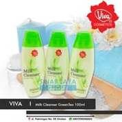 VIVA MILK CLEANSER GREENTEA GREEN TEA BPOM 100ML (21796199) di Kota Bekasi