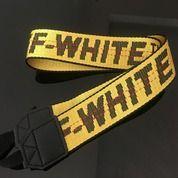 Strap Camera / Tali Kamera OFF WHITE - Yellow (21801047) di Kota Malang